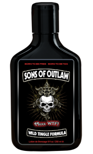 Sons Of Outlaw Tingle Tanning Lotion